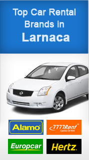 Top Car Rental Brands in Larnaca